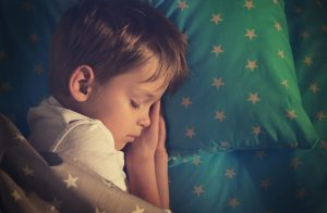 Adorable,Little,Boy,Sleeping,In,Bed